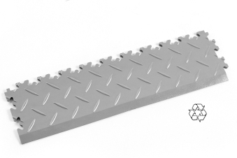 Recycled PVC Interlocking Floor Tile Edge Ramps