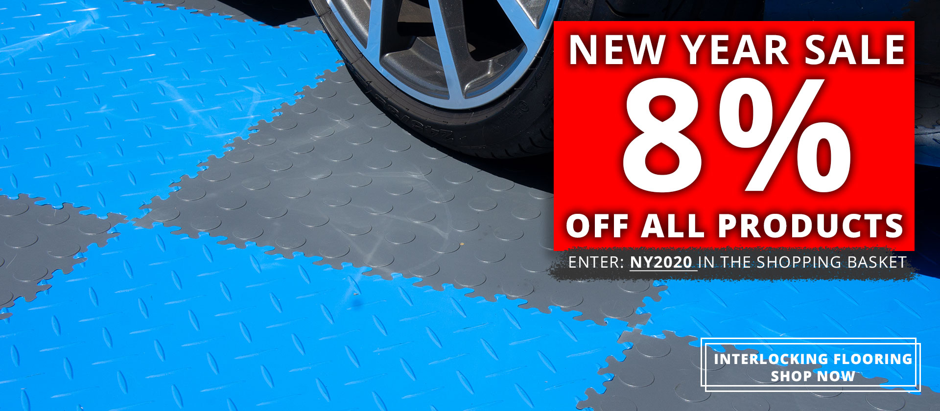 Mototile Interlocking Floor Tiles For Garages, Warehouses and more